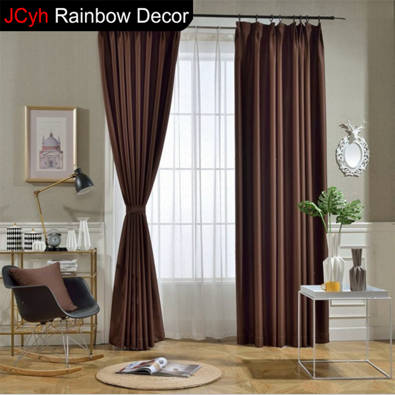 JRD moderna tende oscuranti per soggiorno finestra tenda tessuto ...