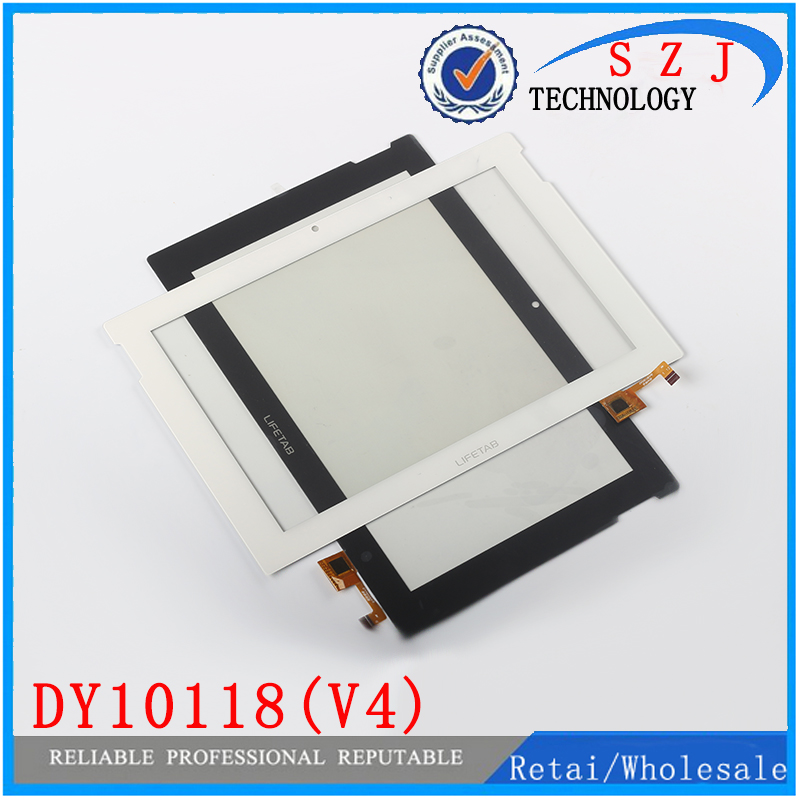 Original 10.1 inch DY10118(V4) LIFETAB touch screen panel digitizer glass for tablet touch sensor replacement Free shipping