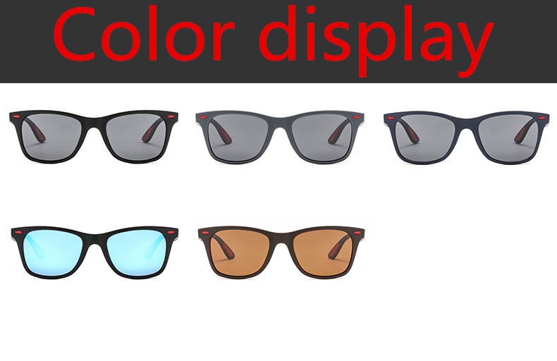 ASUOP 2019 new square polarized men`s sunglasses UV400 fashion ladies glasses classic brand designer sports driving sunglasses (2)