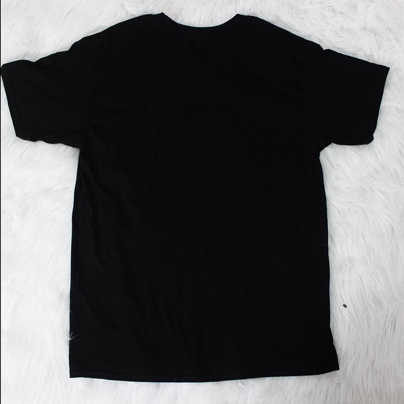 DAYIFUN Tee Shirts Women 2019 Cotton Cool Music Cat T Shirts for Women Plus Size Black Casual Short Sleeve T shirts CMK1000 in T Shirts from Women 39 s Clothing