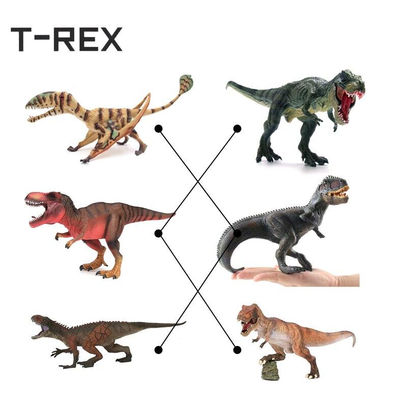 T-REX caliente Mundo Jurásico Tyrannosaurus modelo de plástico ...