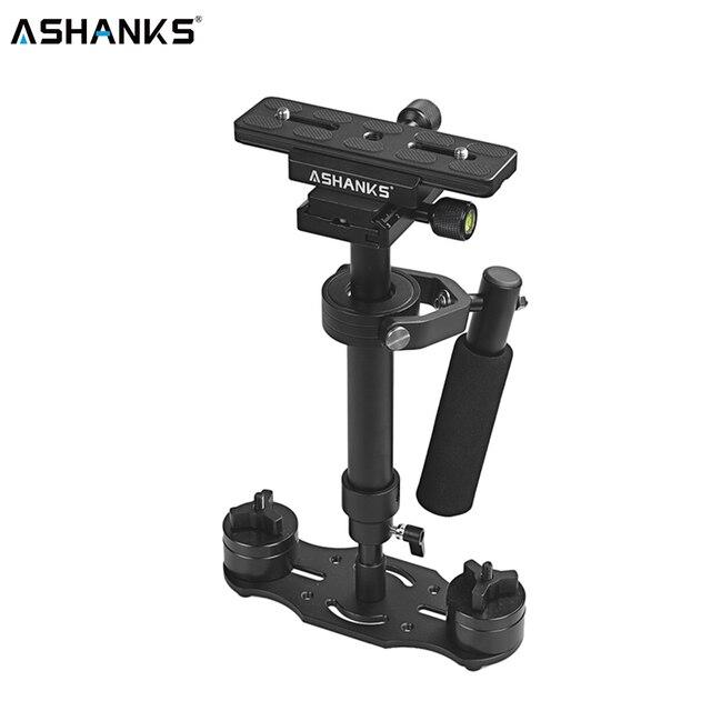 Ashanks S40 40 センチメートルハンドヘルドスためステディカムキヤノンニコン移動プロaeeデジタル一眼レフビデオカメラLY08
