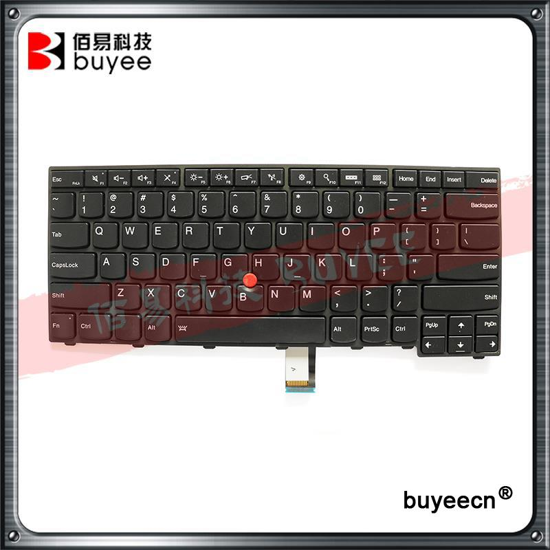 New Laptop English Keyboard For Lenovo T440 T440S T431S T440P T450 T450S T460 Backlit US Keyboard 04X0139 04X0101 0C43906 new us laptop keyboard with backlit for lenovo yoga 14 thinkpad s3 series p n 00wh763 47m004d sn20f98414 cb 84us mp 14a83usj442