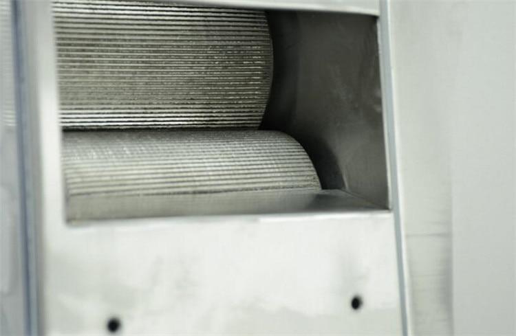 Grande sortie 3 rouleaux/4 rouleaux en option en acier inoxydable électrique canne à sucre presse agrumes machine canne à sucre presse agrumes de haute qualité - 6