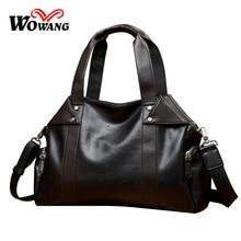 2016 Men Travel totes Multifunctional Shoulder bag Male Luggage Travel Bag Large Capacity Men's Leather Handbags Crossbody bags