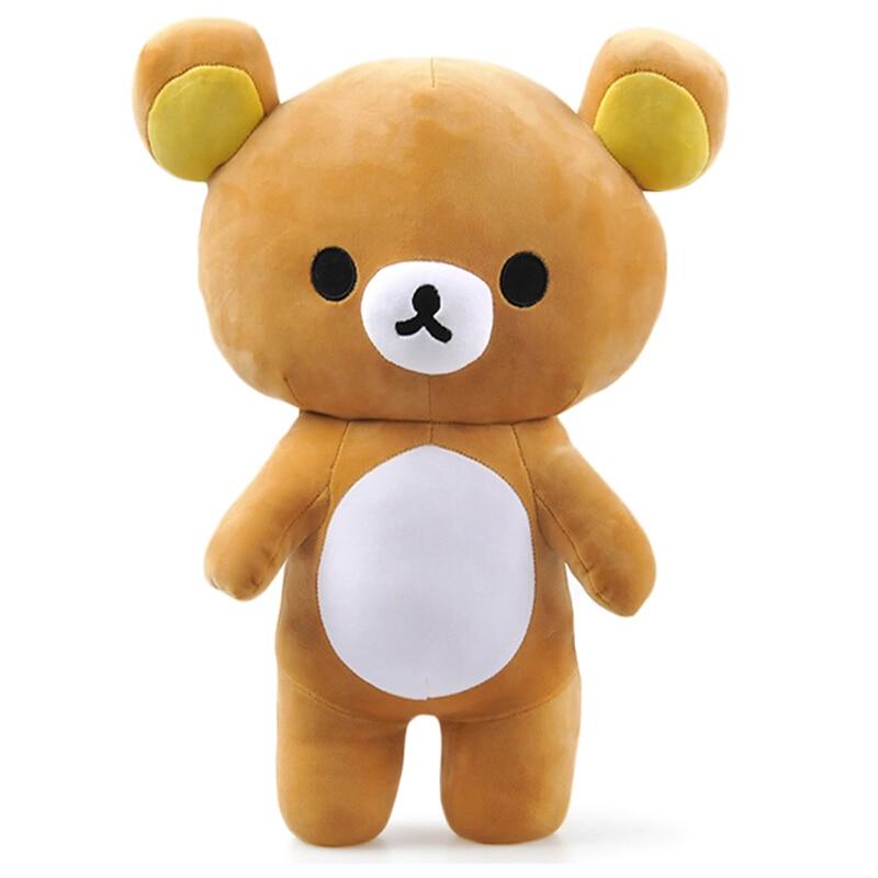 Kawaii rilakkuma пара Плюшевые персонажи мультфильмов игрушка Мягкое Животное Коричневый медведь мягкая кукла для девушки хороший подарок