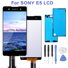 Original 1280x720 For SONY Xperia E5 F3311 F3313 LCD Display Touch Screen Digitizer Replacement For SONY Xperia E5 LCD sony xperia e5 black