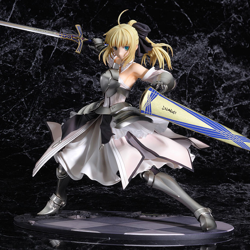 ZHAIDIANSHE anime saber lily PVC action figure 23cm fate stay night toys gift collectible model toys for children le fate топ