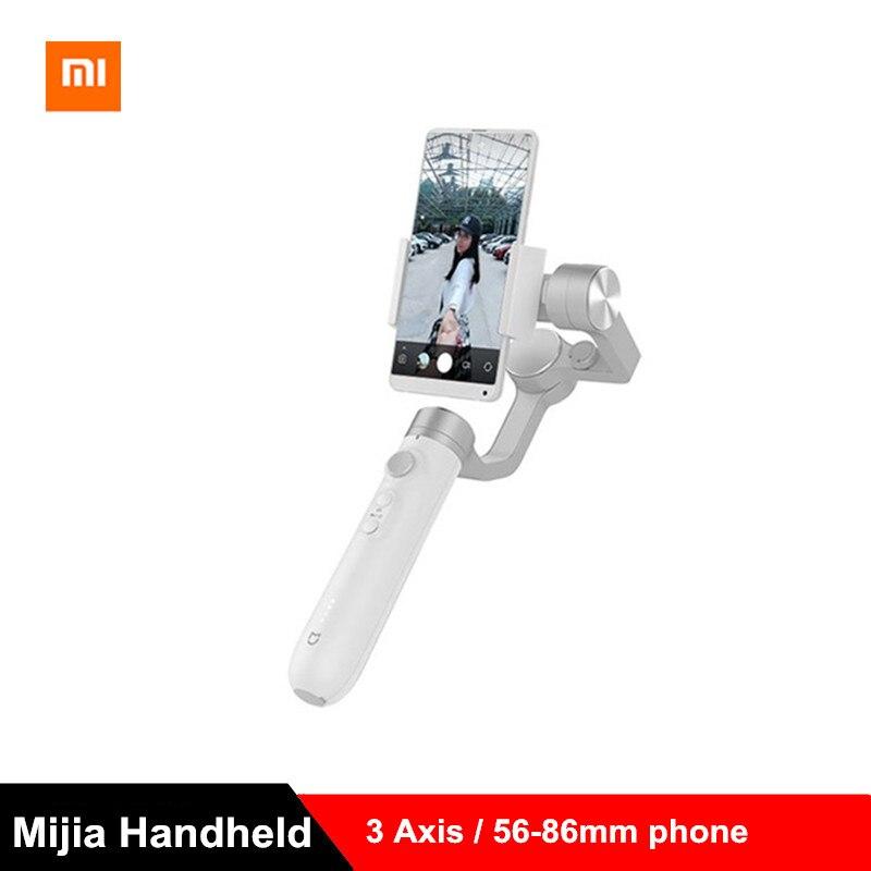 Xiaomi mijia 3 eixos cardan handheld estabilizador 5000 mah bateria para câmera de ação e telefone estabilizador vs feiyu tecnologia zhi yun