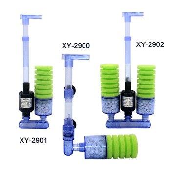 Filtro de esponja para acuario, bomba de agua de algodón bioquímica, Mini bomba sumergible para tanque de peces, XY-2900 de circulación de agua XY-2901 XY-2902