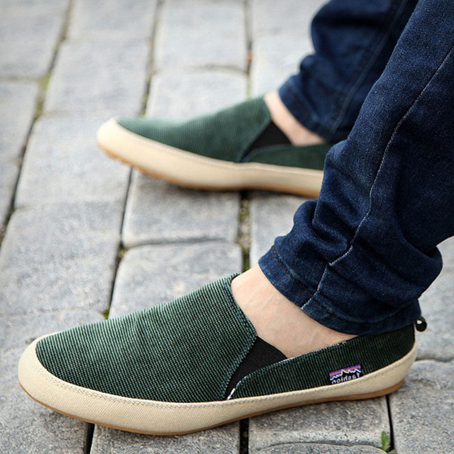 Men Loafers New Breathable Canvas Shoes High Quality Casual Footwear Fashion Light Male Walk Shoes