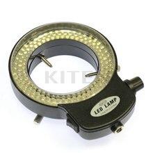 Cheap price 144 LED Ring Light illuminator Lamp For Industry Stereo Microscope Digital Camera Magnifier 110V-240V Adapter Adjustable 6500K
