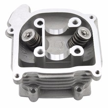GOOFIT Cylinder Head with Valve for 4 Stroke GY6 49cc 50cc Scooter Moped 139QMA 139QMB Engine Part Group-98