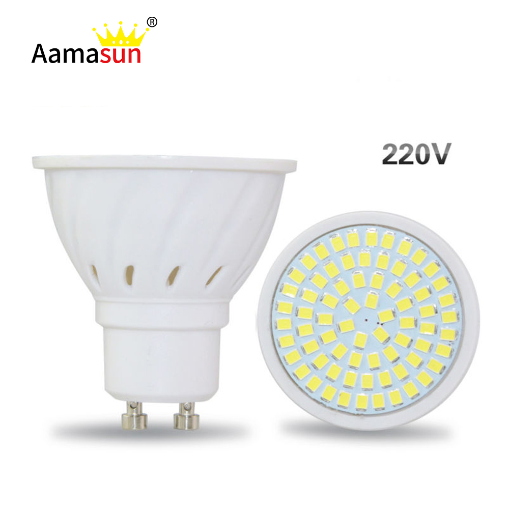 Lights & Lighting Fast Deliver Wholesale Price Gu10 Led Bulbs Lamps Ac 220v 8w Spotlight Smd2835 72leds Chandelier Decor Lighting Warm White/cold White/white Refreshing And Beneficial To The Eyes Light Bulbs