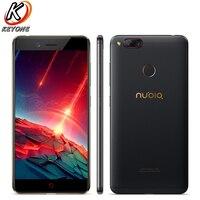 Новый Для ZTE Nubia Z17 Mini LTE мобильный телефон 5,2 ''ГБ 4 Гб оперативная память 64 ГБ Встроенная Восьмиядерный Snapdragon 652 двойной камера 13MP Android смартфон
