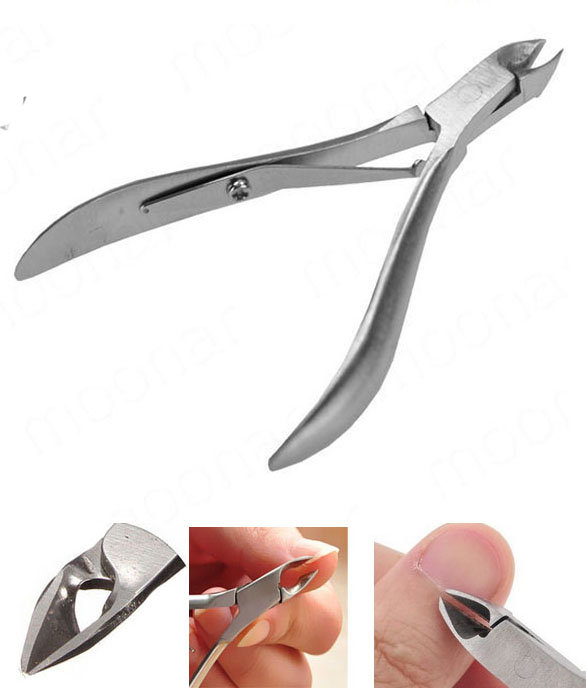 Toenail Toe Ingrown Nail Art Cuticle Nipper Clipper Edge Cutter Manicure Trimmer Scissor Plier Tool Pedicure Dead Skin Remover In Scissors From Tools On