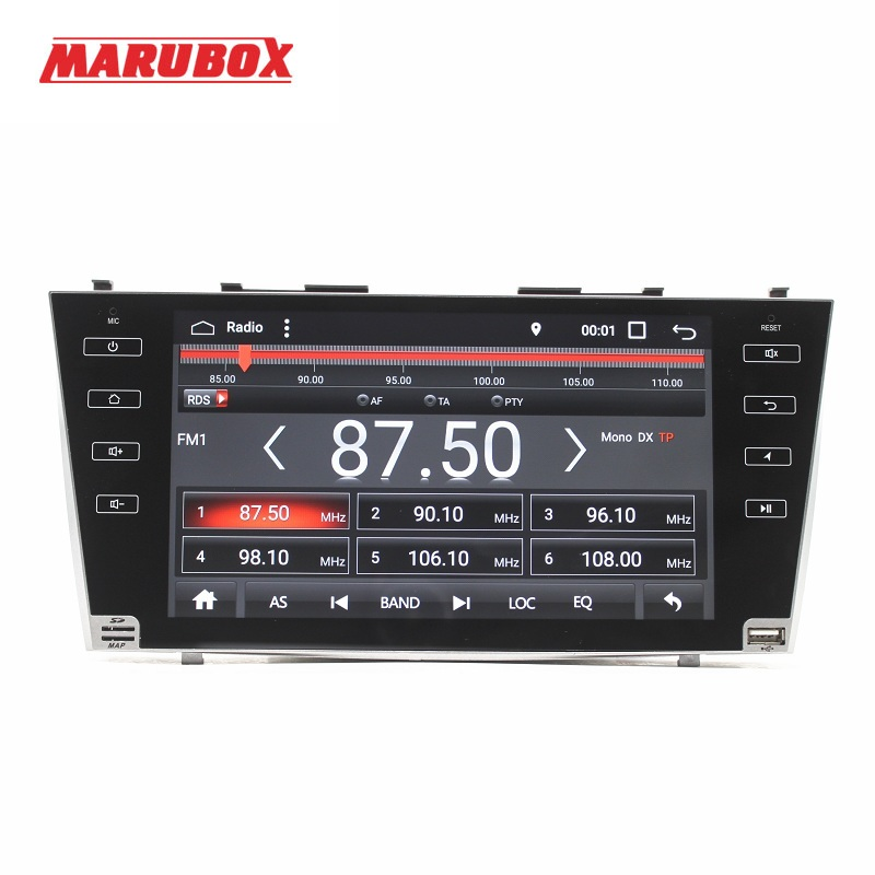 MARUBOX M9A103A4, Lecteur Multimédia de voiture Pour TOYOTA CAMRY, 9 ''HD Écran tactile volant BT Radio GPS 2 GB RAM, 32 GB ROM