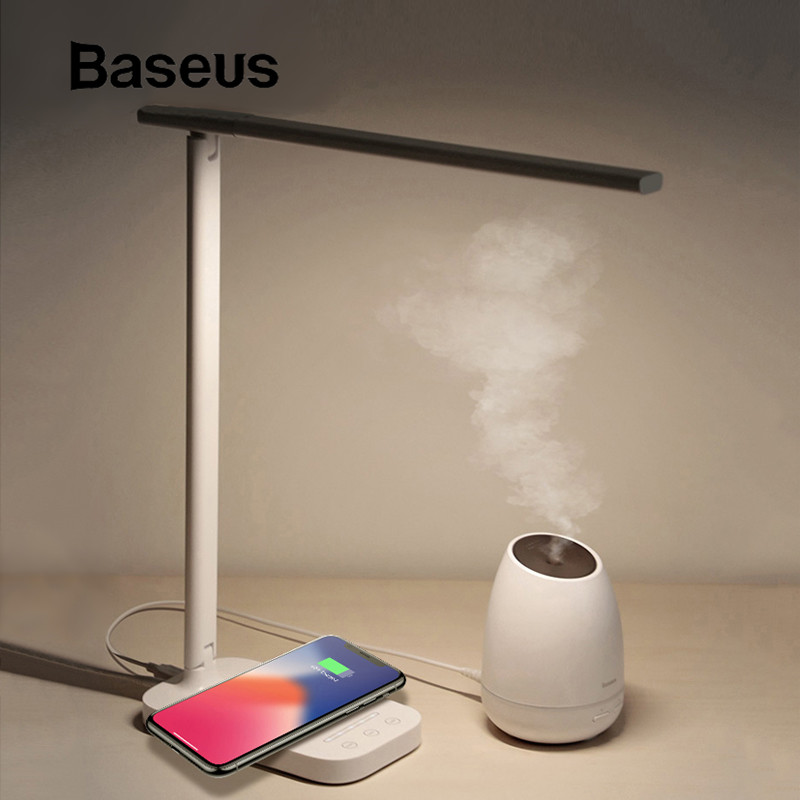 Aliexpress Com Buy Baseus Lamp Qi Wireless Charger For