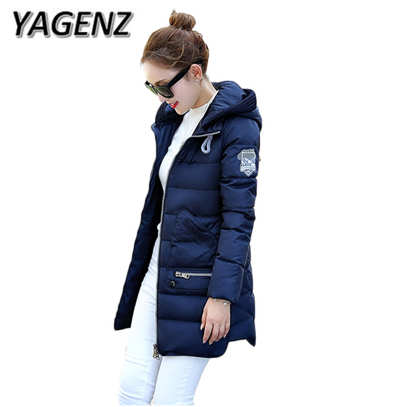 2018 Winter Jacket Coats Women Large size XL-6XL 7XL Down Cotton Hooded Overcoat Warm Parkas Women Cotton Coat Boutique Clothing