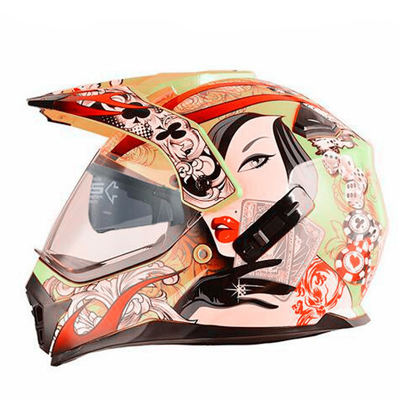 2019 New Print Good Crash Proof And Good Quality Moto Helmet Mask Motorcycle-helmet Casco Moto Vintage Motor De Moto Casco