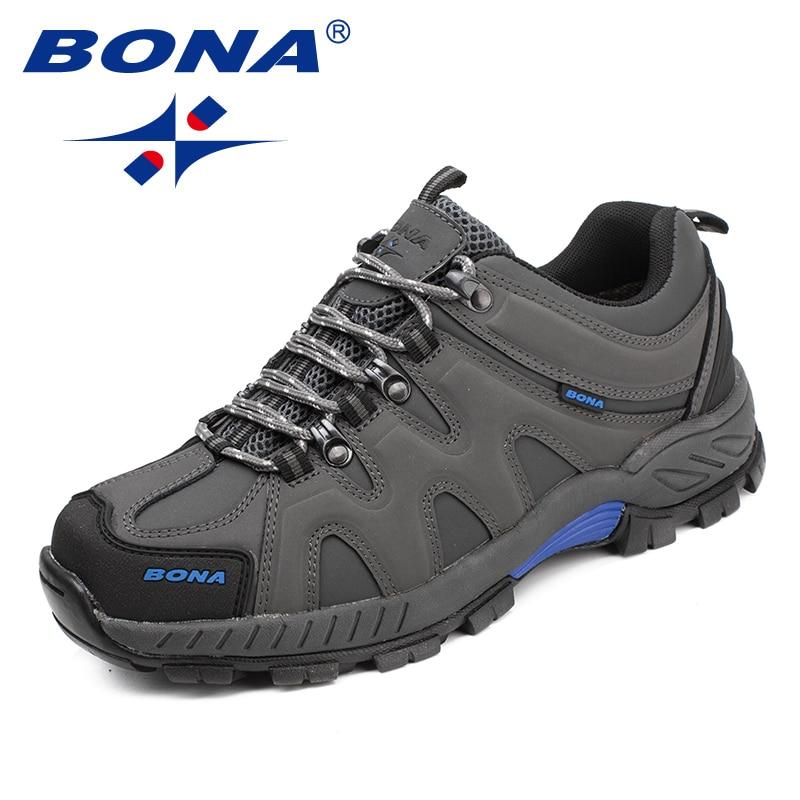 BONA — Chaussures de randonnée à lacets pour hommes, baskets de style classique pour le sport, le jogging en plein air et le trekking, nouvelle collection, livraison rapide et gratuite 2