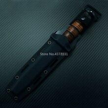 KYDEX funda para cuchillo táctico, 1217, con cinta de nylon