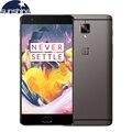 "Оригинал Oneplus 3 T A3010 Один плюс 3 Т 4 Г LTE Мобильный Телефон Quad core Отпечатков Пальцев 5.5 ""16.0MP 6 Г Ram NFC Android Смартфон"