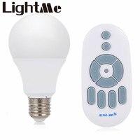 Escurecimento sem fio Lâmpada LED Light Bulb Lâmpadas LED E27 AC 200-240 V Lâmpada de Luz para o quarto da cozinha shopping restaurante