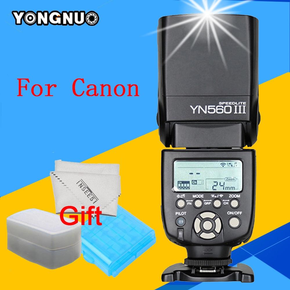 Yongnuo YN560III YN560 III Wireless Flash Speedlite for Canon 6d 60d 5d mark iii 550d 1100d 650d 600d 700d 7d Camera YN560-III yongnuo flash speedlite yn 560 iii yn560iii for canon 5d ii 5d2 5d3 7d 6d 60d 50d 40d 700d 650d 600d 550d 500d 350d 1100d 1000d