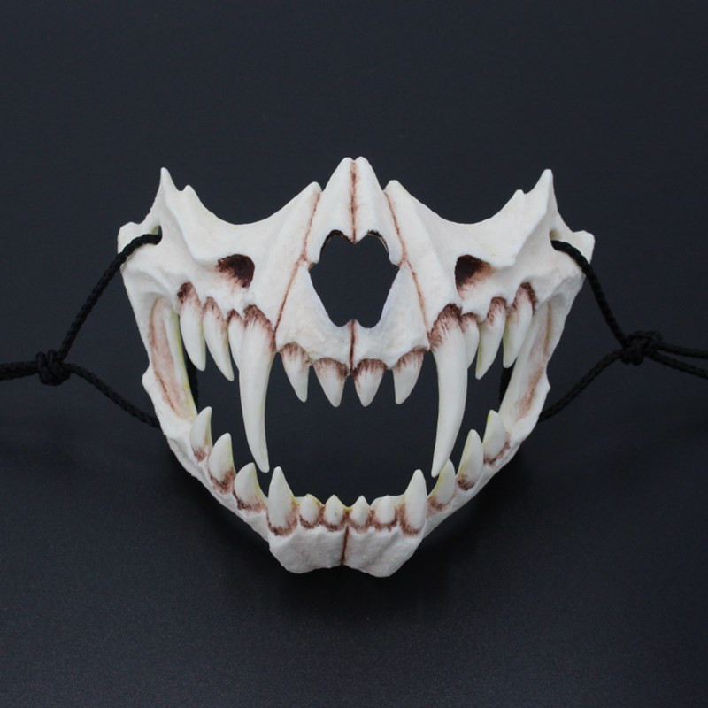 New The Japanese Dragon God Mask Eco friendly and Natural Resin Mask for Animal Theme Party