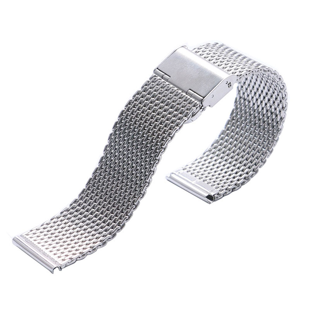 case watches products silver bbbe mesh metal watch white wesson co