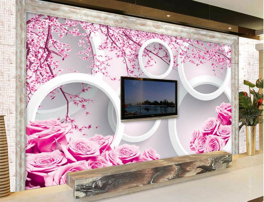 customize 3d wall murals wallpaper Pink roses 3d stereoscopic wallpaper for living room photo wallpaper 3d wall blue earth cosmic sky zenith living room ceiling murals 3d wallpaper the living room bedroom study paper 3d wallpaper