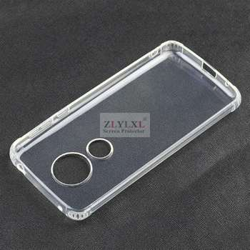 soft thin ice phone Transparent Clear TPU bag back cover Silicone Case for Motorola moto G6 play