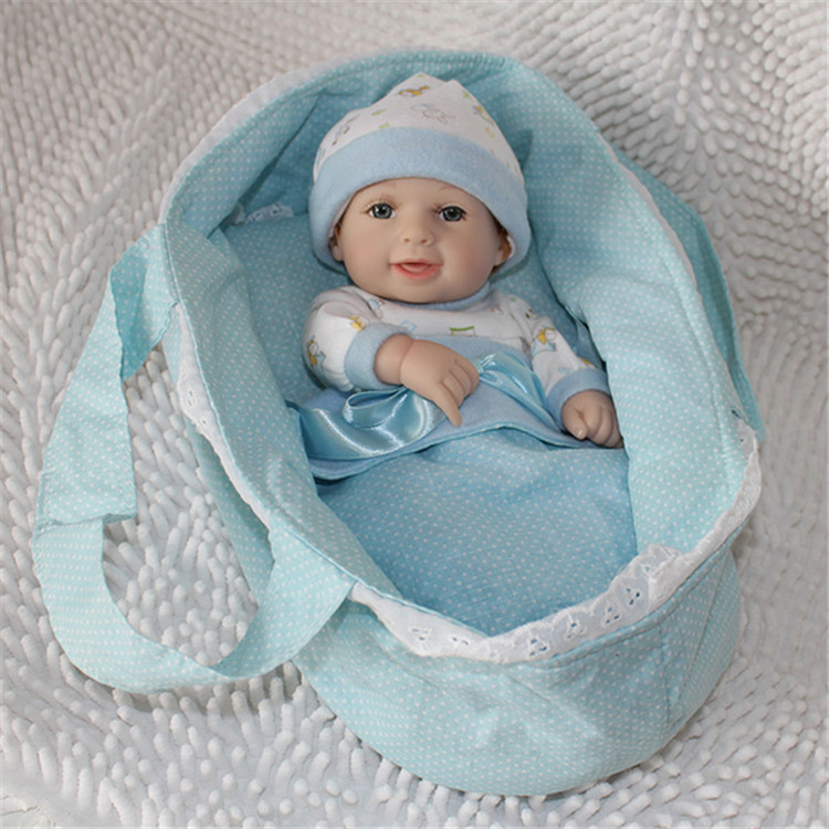 12 Inches Full Silicone Vinyl Handmade New Reborn Baby