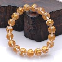 Natural White Crystal Bracelet Hand Fine Carved Rock Crystal Jewelry Gift Bracelet Valentine day Bracelet