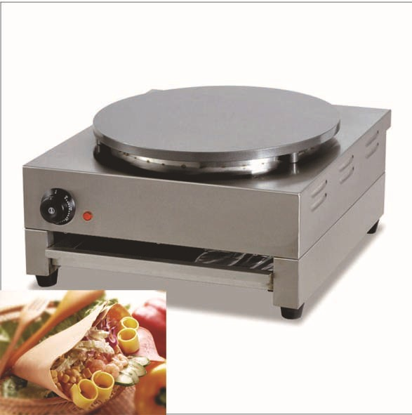 Commercial Crepe Maker Machine _Electric Pancake Maker Machine
