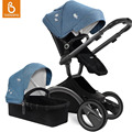 Babysing bebê assento quatro rodas carrinhos de alta paisagem carrinho rotação de 180 graus dobrar punho reversível carrinho de bebê e carrinho de passeio