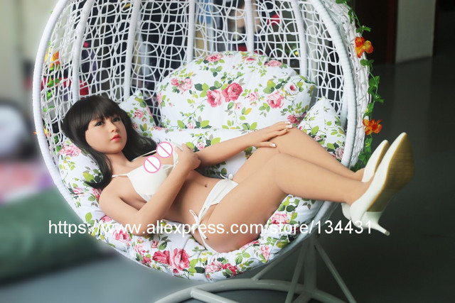 2017 New Real Silicone Sex Dolls 135cm Robot Japanese Realistic Love Doll Sexy Anime Big Breast Mini Vagina Adult Full Life Toys