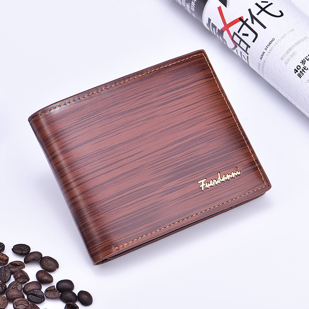 MOLAVE Wallets Wallet Male Solid CardHolder PU Leather Man Embossing Wallet Pocket Credi ...