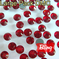 Free Shipping Ss10 Color Clear White Crystal Large Packing 500Gross Bag DMC Hot Fix Transfer Rhinestone