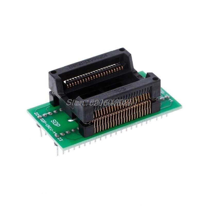 SOP44 to DIP44 PSOP44 - DIP44/SOP44/SOIC44/SA638-B006 IC IC socket Programmer adapter Socket New R16 Drop ship wholsale universal adapter sockets sop8 sop 8 to dip8 dip 8 for all programmer 200 208 mil