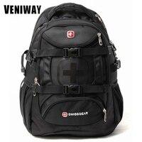 VENIWAY Swiss Brand Men S Gear Waterproof Laptop Backpack 15 Inch Large Capacity Mochila Daily Backpacks