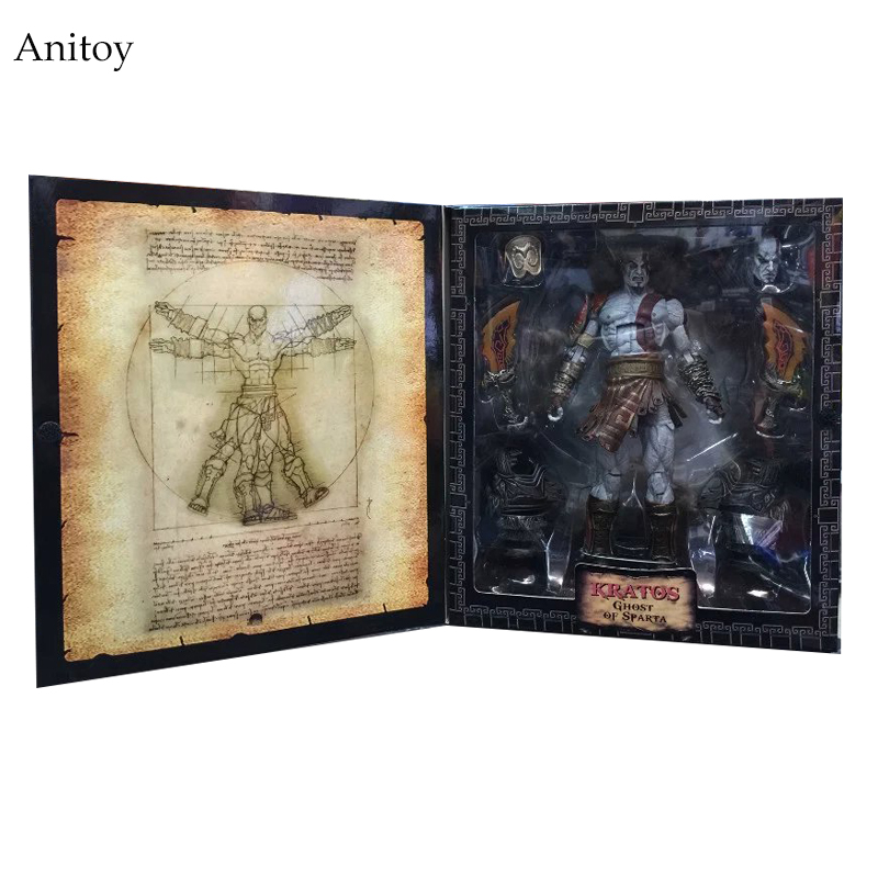 NECA God Of War 3 Ghost Of Sparta Kratos PVC Action Figure Collectible Model Toy 22cm KT1936