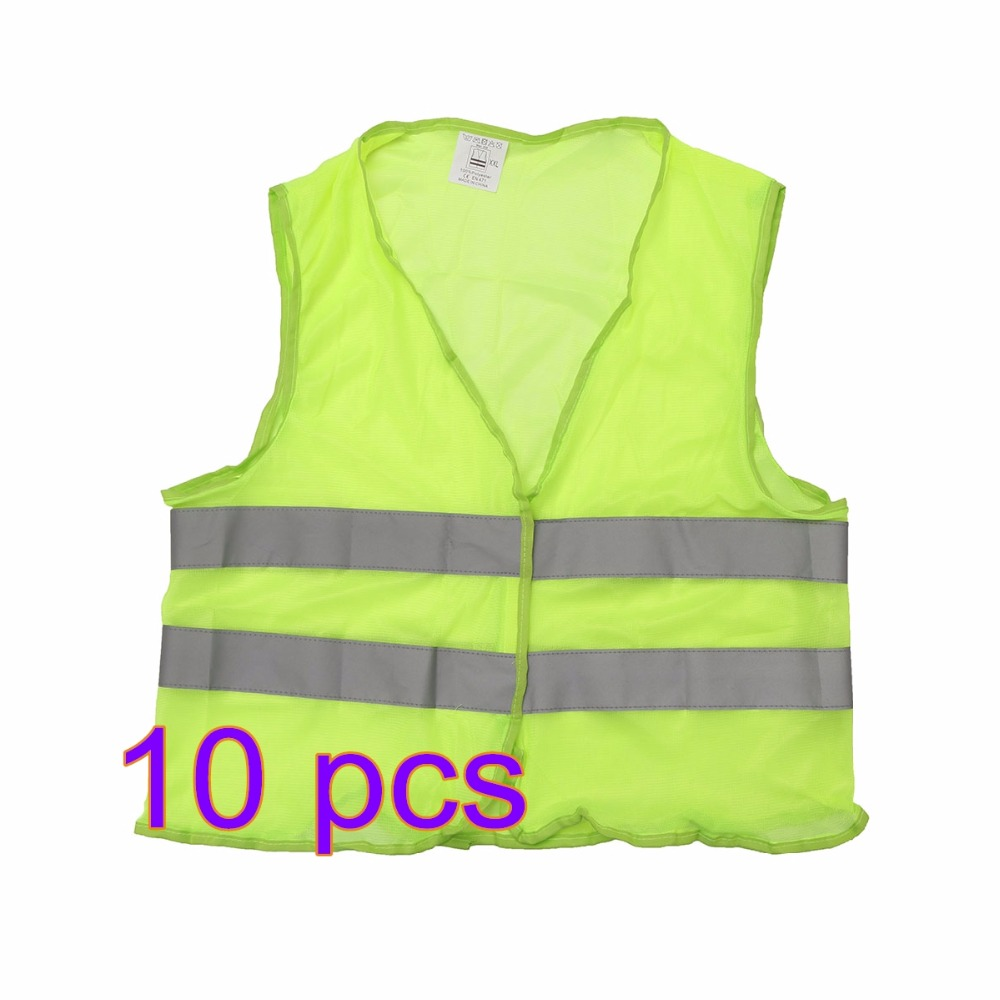 2pcs 5pcs 10pcs Reflective Vest Safety Vest Accident Vests Bike Motorcycle Warning Vest Fit For Running Cycling Sports Outdoor Spare No Cost At Any Cost Back To Search Resultsautomobiles & Motorcycles