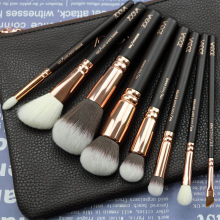 New Arrival Zoeva 8pcs Makeup Brushes Professional Rose Golden Luxury Set Brand Make Up Tools Kit Powder Blend brushes