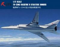 RealTS Trumpeter Model Kit Tu 22M2 Backfire B Plane 1:72 Scale 01655 New