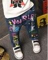 Хан издание нового фонда 2016 осень ковбойские мальчики печатные герои мультфильмов ковбойские брюки Джинсы бесплатная доставка