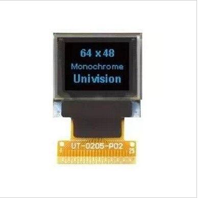 25PCS LOT 0 66 inch blue 64 48 oled module