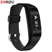 EXRIZU C5 Bluetooth Smart Wristband Sport Band Heart Rate Monitor Alarm Clock Pedometer OLED Display Waterproof IP65 Bracelet