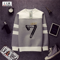 New 7 Space Cotton Sweatshirt New 2015 Tide Brand Men S Sweatshirt Hedging Fashion Casual Round